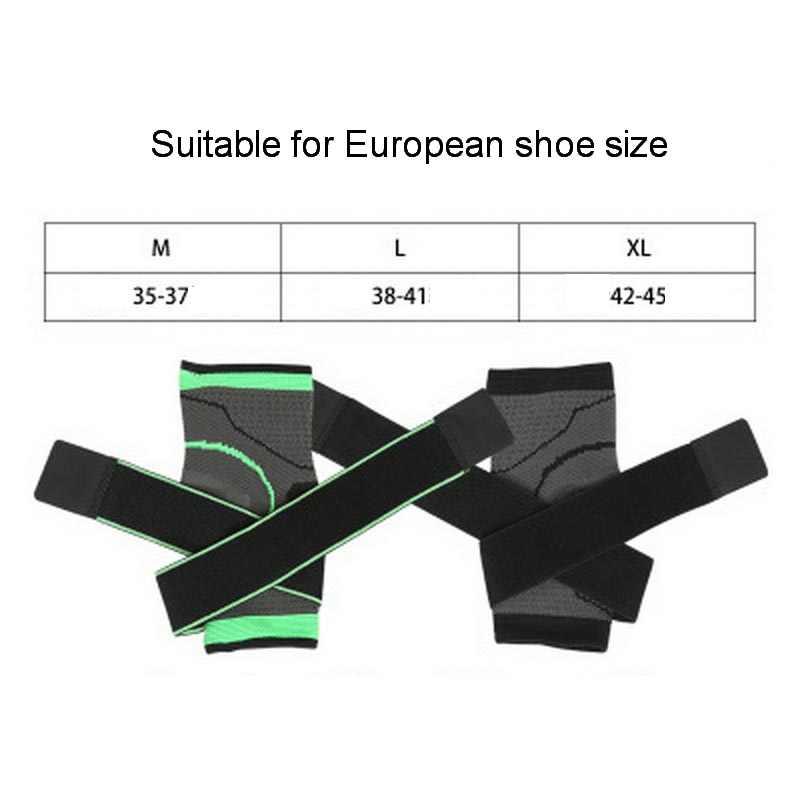 1Pcs Elastische Bandage Unterstützung Knöchel Schutz Für Sport Gym Ankle Brace Mit Strap Gürtel achilles sehne retainer Fuß Schutz
