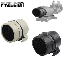 Tactical Airsoft ACOG Killflash 4X32 Scope Lens Protector 32mm Anti-reflection Sunshade Protect Cover Caps for ACOG Scope цена