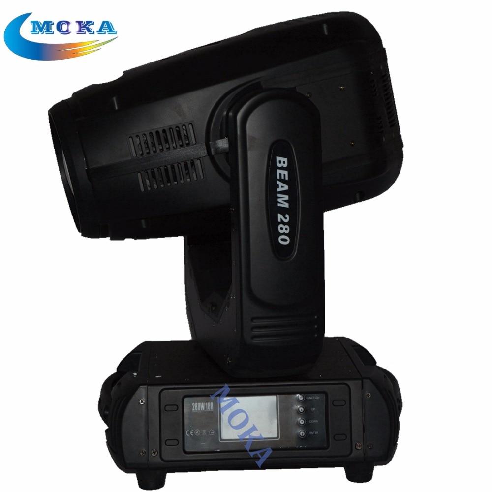 2 pcs/lot salut-qualité 280 W 10R Lavage Spot Faisceau 3-en-1 Tête Mobile Lumière DMX512 moving head faisceau de lumière 280 faisceau