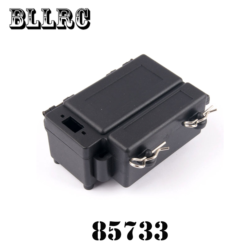RC Car 1:8 94885 HSP Battery Receiver Box For RC 1/8 Model Car Spare Parts 85733 hsp 02024 differential diff gear complete 38t for 1 10 rc model car spare parts fit buggy monster