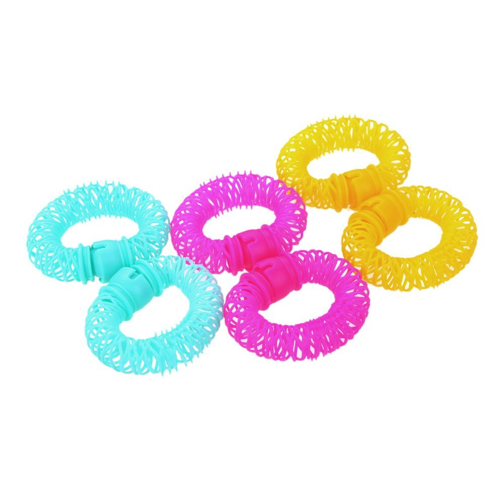 women Sponge curler 6pcs Lucky Donuts Curly Hair Curls Roller Hair Styling Tools Hair Accessories Magic Spiral Ringlets Circles