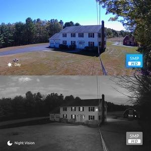 Image 4 - Reolink poe ipカメラ屋外5MP 4x光学ズームsdカードスロットオーディオIP66防水弾丸ビデオ監視RLC 511