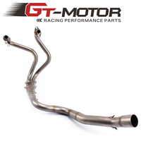 GT Motor Full Exhaust System for Kawasaki Ninja 250R 250 300 2013 2016