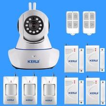 2016 nueva cámara N62 antena Doble de Alta Calidad HD 720 P Cámara IP Inalámbrica Cámara IP y puerta del sensor remoto control
