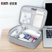 Bag Receiving-Accessories Cable-Organizer Portable BUBM for Digital Power-Bank Membory-Card