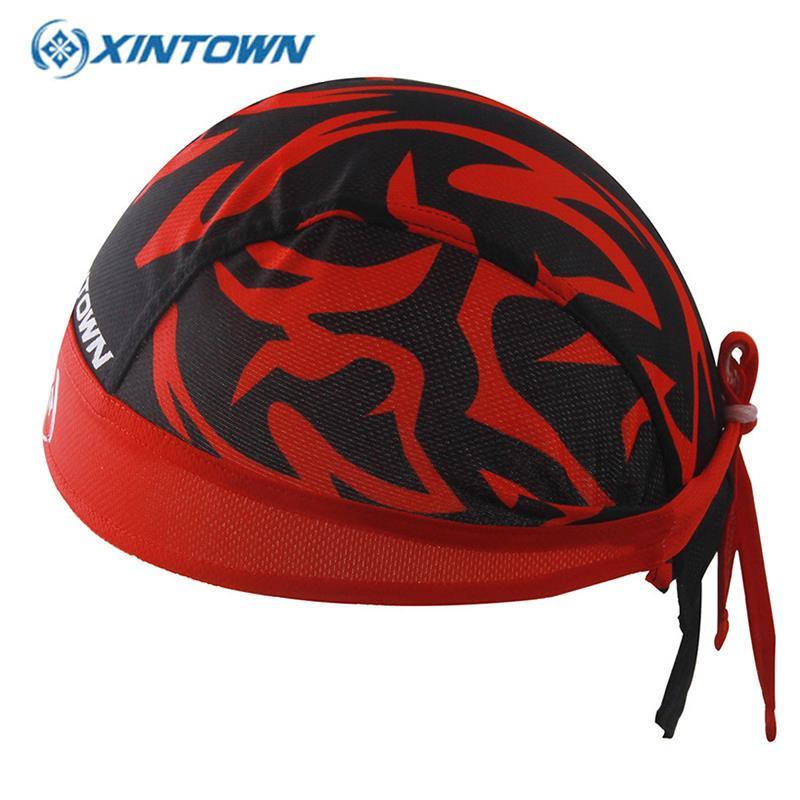 XINTOWN gorra ciclismo bandana Cycling Caps Bicycle Headband For Men Hats Breathable Pirata Bici Sport Touca Headwear Cappellini