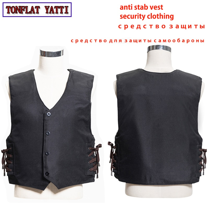 effectively block 24 joules 3 story stab resistant vest soft self-defense V-neck output TZ west E TAT ICO anti covert stab vest