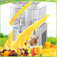 Free shipping cold and hot drink dispenser/slush juice machine/ Sparying juicer /ice beverage dispenser for sale