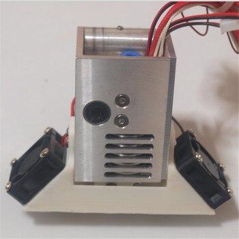 DIY Ultimaker 2 Extended + Plus aluminum alloy V6 Custom UM2 Mount full kit metal mount holder PT100B sensor