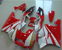 Бесплатная доставка мотоцикл белый + красный ABS обтекатель Средства ухода за кожей Работа комплект капот для H o n D NSR250 NSR 250 NC21 + 3 подарок