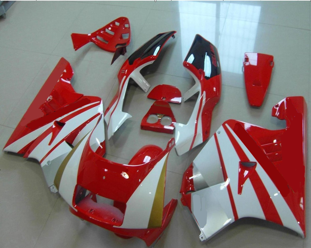 Free Shipping Motorcycle White+Red ABS Fairing Body Work KIT Cowling For H O N D A NSR250 <font><b>NSR</b></font> <font><b>250</b></font> NC21 +3 Gift image