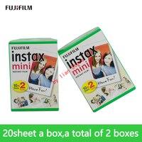 Fujifilm Instax Мини камера пленка 40 листов белая кромка 3 дюймов Мини пленка для мгновенной Мини камеры 7s 9 25 50s 70 камера фотобумага