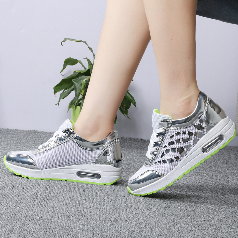 Trainers Women Casual Shoes Summer Style Outdoor Breathable Low Top Shoes Woman Flat Heels Sport Ladies Shoes Size 35-40 ZD71 (11)