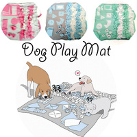 New Snuffle Mat Dog Toy Snuffle Mat Machine Slow Feeding Dogs Cats Food Mats Interactive Toy Cloth Pet Searching Food Training