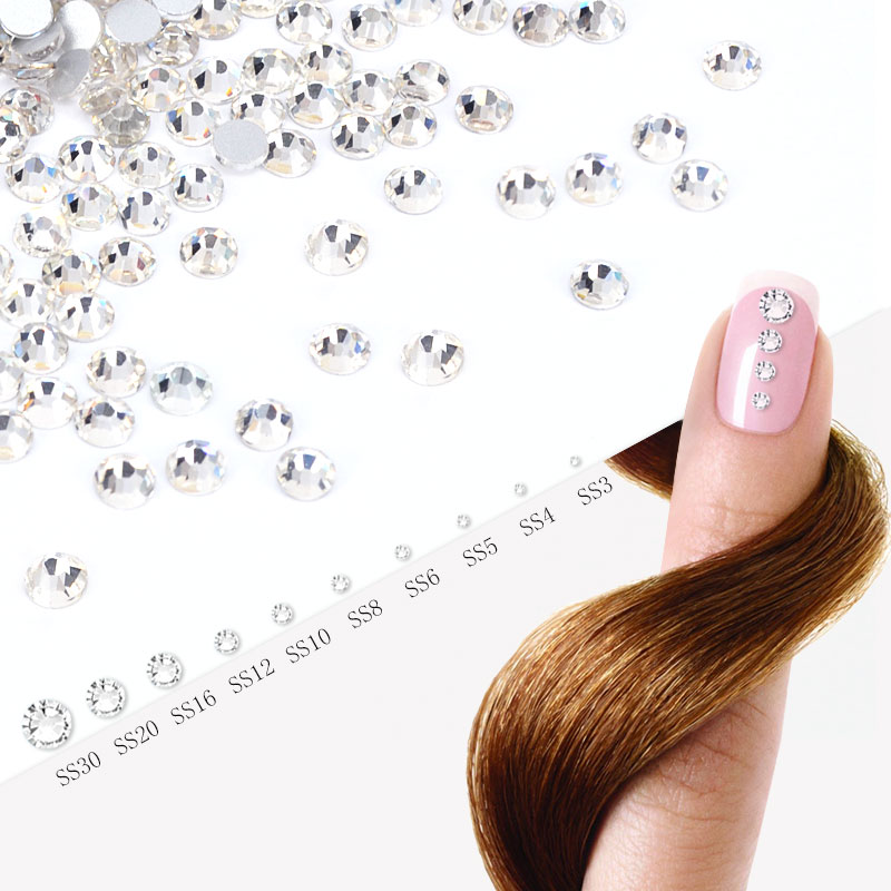 #901 Nail Art Decorations 3D Nail Strass Crystal Diamond Color Rhinestone Nail Accessories gametrix kw 901