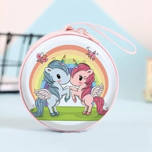 Mini Round Unicorn Purse