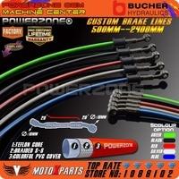 500mm 600mm 700mm 800mm 900mm Colorful Hydraulic Brake Hose ATV Dirt Pit Mini Pocket Bike Buggy