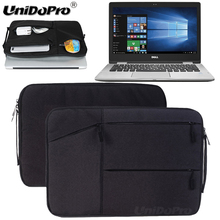 Unidopro Notebook Handbag Sleeve Briefcase for Dell Inspiron 15 5000 15.6 Inch Touchscreen Laptop Mallette Carrying Bag Cover(China)