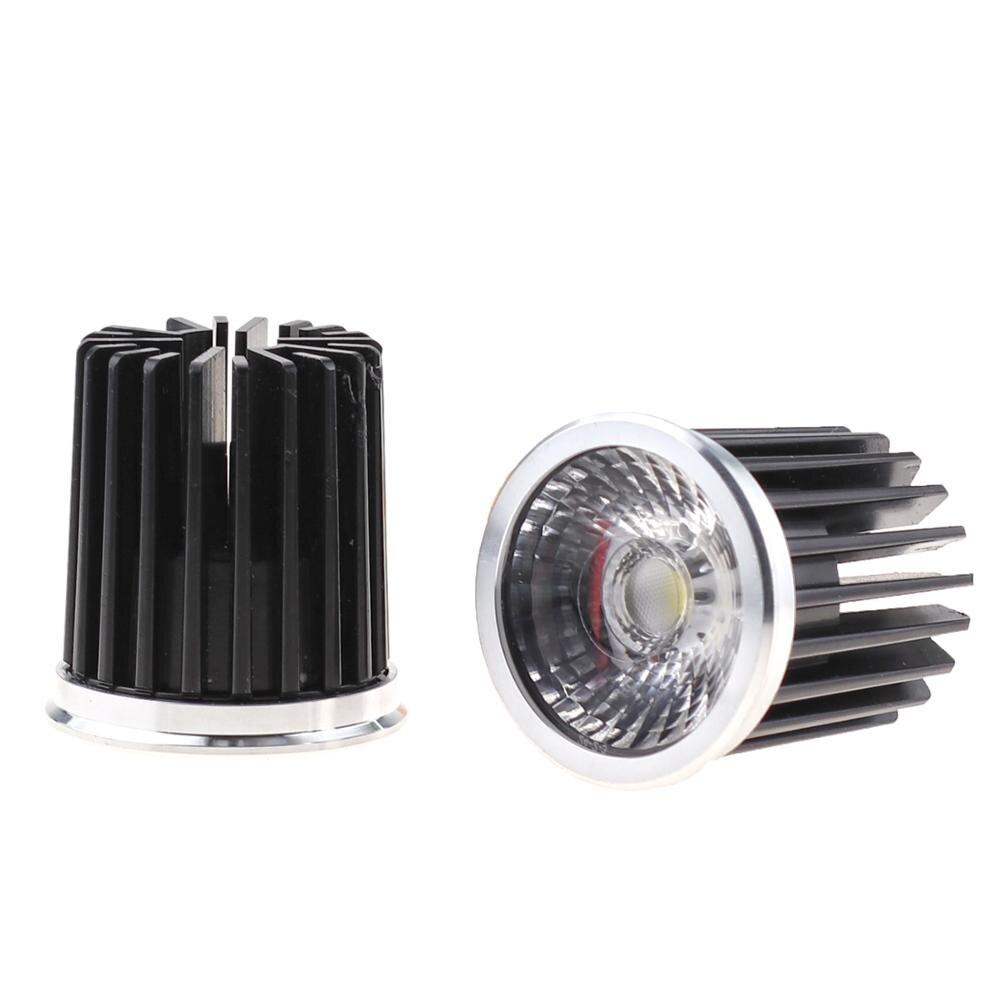 CE RoHS круглый светодиодный прожектор COB 5 Вт/7 Вт/9 Вт/12 Вт AC90-260V с регулируемой яркостью 110 В 220 В светодиодный прожектор лампа Теплый Холодный б...