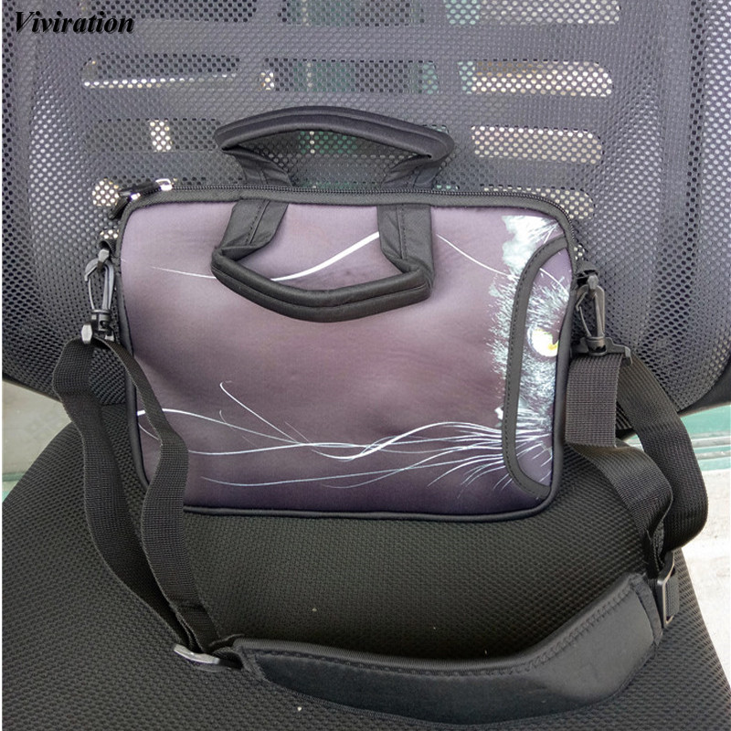 Zipper 15 Inch Computer Messenger Bag Viviration Sleeve Notebook Case 17 13 12 10 14 9.6 Inch Laptop Cover For Dell Acer HP Asus
