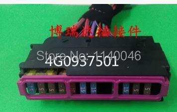1PCS FOR Used Volkswagen Audi series A6A6L Magotan Sagitar engine fuse box 4G0937501  4G0 937 501 6 4 4m bounce house combo pool and slide used commercial bounce houses for sale