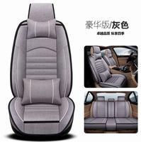 High quality leather Universal Car Seat covers for KIA All Models K2/3/4/5 Kia Cerato Sportage Optima Maxima carnival rio ceed