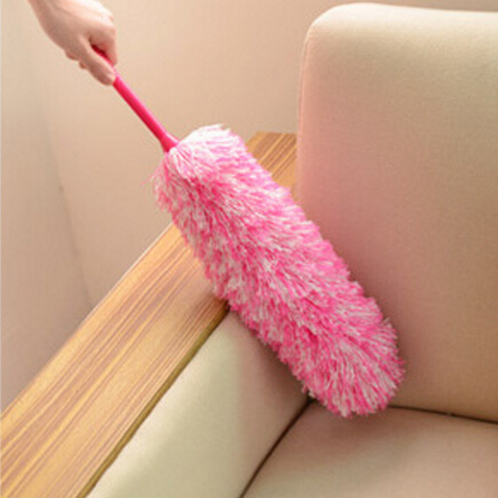 2017 New Soft Microfiber cleaning dust ultrafine fiber household cleaning car Dust duster feather brush