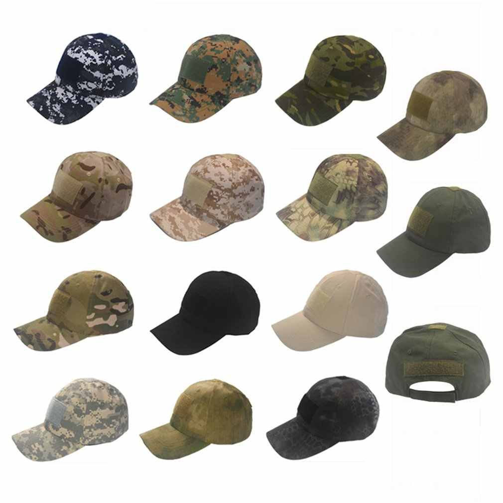 tactical cap Outdoor Sport Snapback stripe Caps Camouflage Hat Simplicity Military Army Camo Hunting Cap Hat For Men Adult Cap