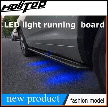 Popüler led ışık koşu kurulu yan adım yan bar LEXUS NX300h NX200T NX, yeni tasarım,