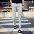 casual slim fit linen pants man  pants white skinny trousers thin  Pants for men EM16