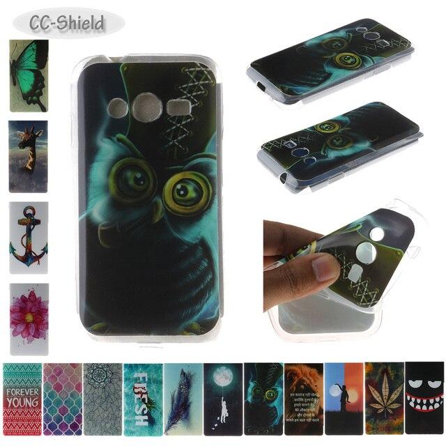 TPU Soft Case for Samsung Galaxy Ace 4 Lite Ace4 Neo G313 G318 G313H SM-G313H SM-G313F SM-G313M SM-G318H Painting IMD phone case