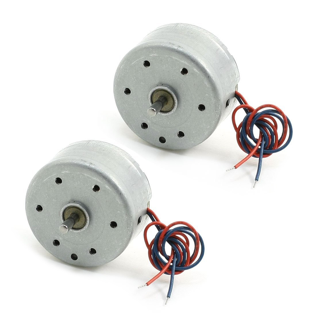 High Quality 2pcs Rc300 6000rpm Dc 1 5 9v Micro Motor For