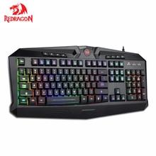 Redragon K503 Gaming Keyboard RGB LED Backlit  with 12 dedicated Multimedia Keys Total 112 Quiet keys Full Size Keyboard цена и фото