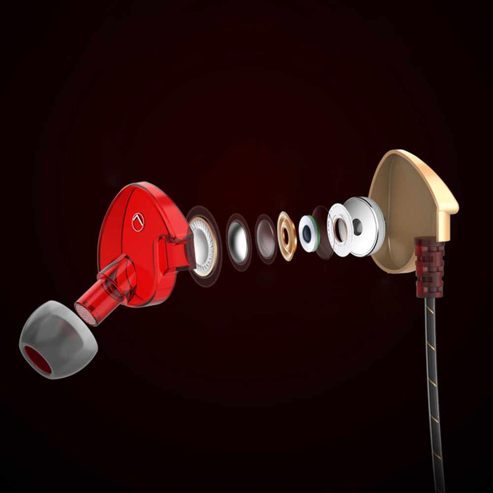 2018 新ヘッドホンハイファイ QKZ CK7 で耳イヤホンステレオレーススポーツヘッドセットユニバーサル駆動音楽ギフトチャット