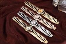 CRRJU Luxury Women Watch Famous Brands Gold Fashion Design Bracelet Watches Ladies Women Wrist Watches Relogio Femininos