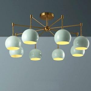 led 27 Nordic Iron Green Apples Ceiling Lights.LED Ceiling Light.Ceiling Lamp Lamparas De Techo For Foyer Bedroom