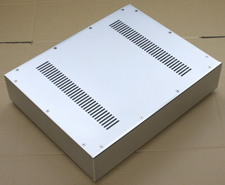 DIY AMP 430*92*340mm WA52 Full aluminum amplifier chassis / Pre-amplifier / Tube amp amplifier / AMP Enclosure / case / DIY box цена