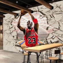 Bacaz 3d Vintage Basketball wallpaper for Restaurant Bar Cof