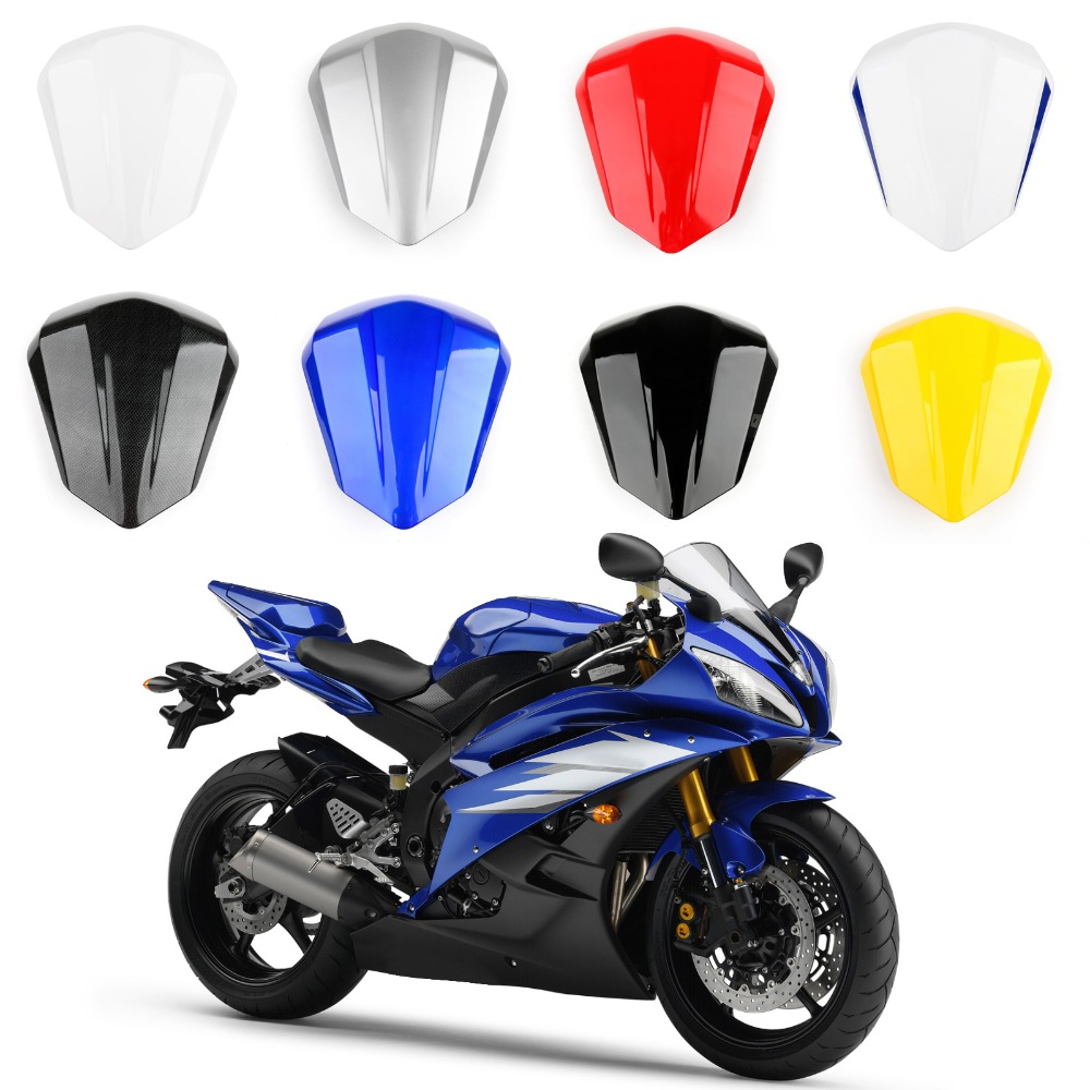 Areyourshop Motorcycle ABS plastic Solo Rear Seat Cover Cowl For Yamaha R6 2006 2007 Fairing New Arrival Motorbike Part Styling