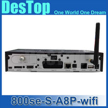 2016 Satellite Receiver DM800hd se A8P WIFI dvb-s2 Original Sim a8p dm800se Enigma2 Bootloader 84 BCM4505 Tuner Free Shipping