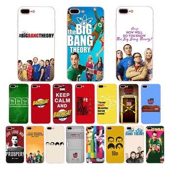 TV Big Bang Theory Yumuşak silikon telefonu iphone kılıfları x xr xs max kapak kılıf 7 6 s 6 8 artı 5 s 5 se TPU Coque Funda