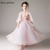 2019 new cute lace princess baby girls dress princess white pink children girl kids infant tutu dresses