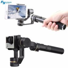 Original FY Feiyu SPG Live 3 + Mini Tripod Axis 360 degree Limitless Handheld Gimbal Stabilizer For iPhone 7/6 Sansung HUAWEI