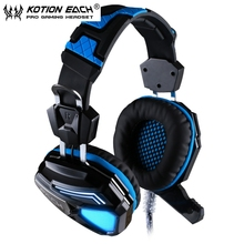 2PCS/lot EACH G5200 7.1 Surround Sound Gaming Headphone Headset Noise Cancelling headband Vibration with Mic Colorful lights