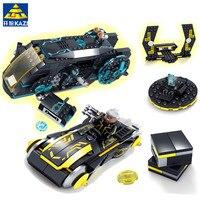 KAZI 493Pcs Future Police Space Ship Racing Car War Weapon X men Building Blocks Bricks Educational Toys for children