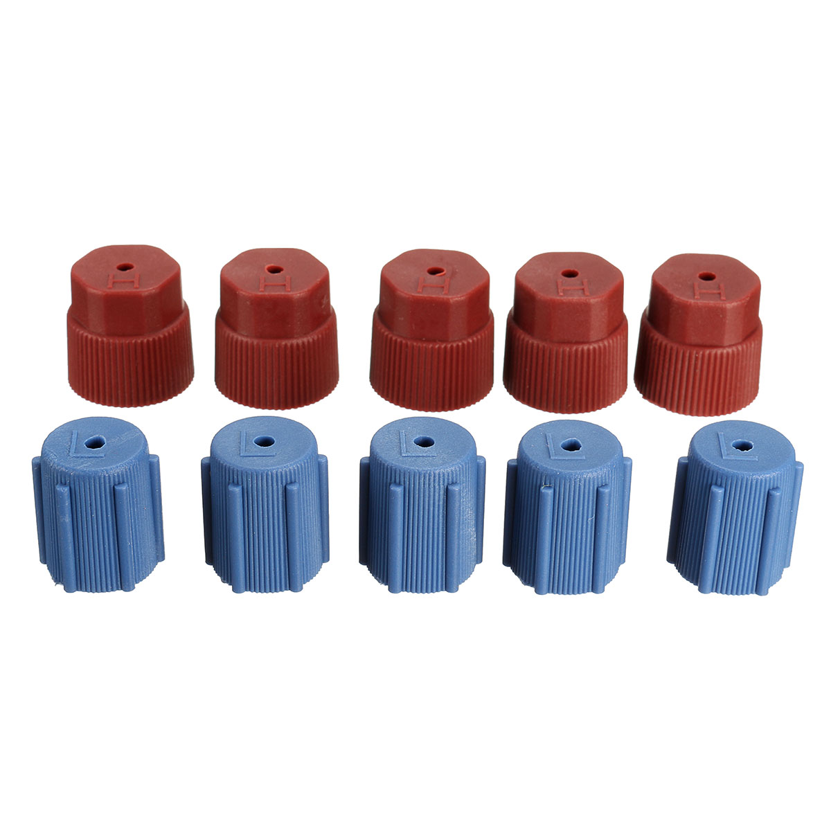 R134a 13mm/&16mm AC System Cap Charging Port Service Caps Hi Low Side Kits 10Pcs