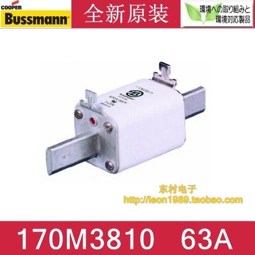 US BUSSMANN fuse 170M3810 170M3810D 63A 690V 700V fuse nicholls d us