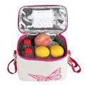 Novo Grande Grosso Saco Térmico Folha de Sacos Refrigerador saco de Gelo Leite Materno Fresco Pacote de Isolamento Lunch Bags 5 CORES ALB386