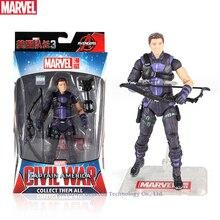 Hasbro Marvel Toys The Avenger Endgame 17CM Super Hero Thor Hawkeye Wolverine Spider Man Iron Man Action Figure Toy Dolls
