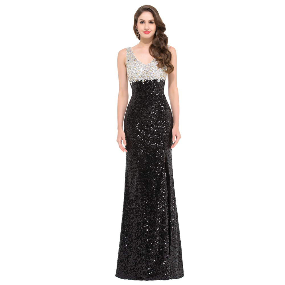 Aliexpress.com : Buy Luxury Glitter Sequins Mermaid Prom Dresses ...